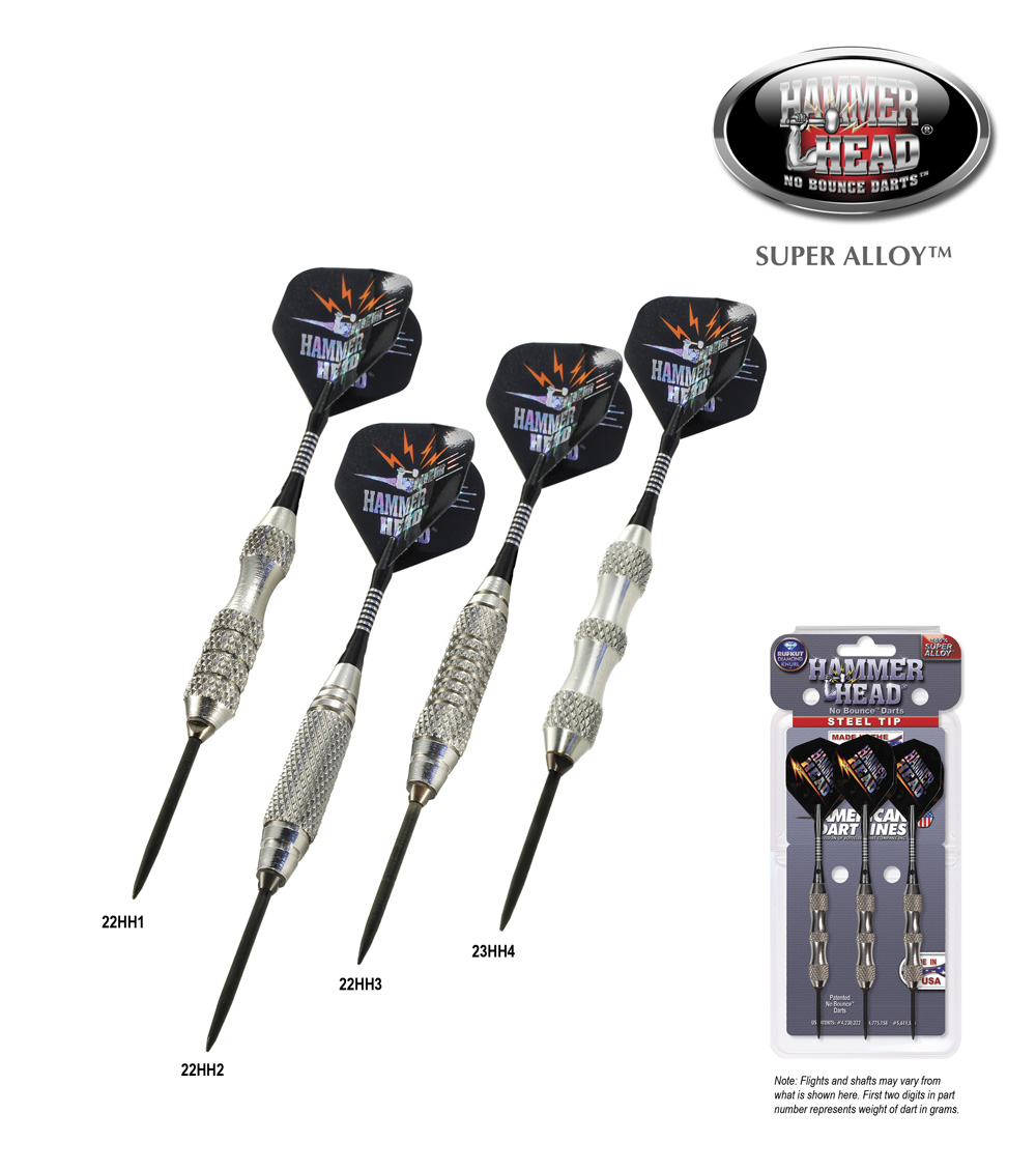 ADL Hammer Head® Super Alloy™ Darts